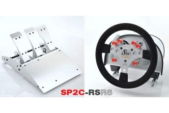 SP2-C RS 6 boutons rouges